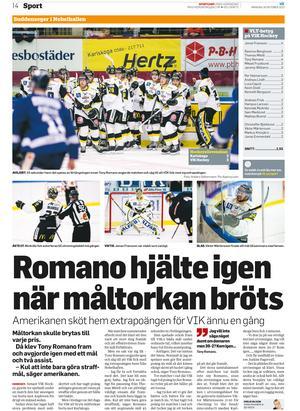 Tony Romano och Viktor Mårtensson fixade den här klassiska segern i Karlskoga.