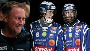 Johan Sixtensson, Martin Karlsson och Joel Broberg.