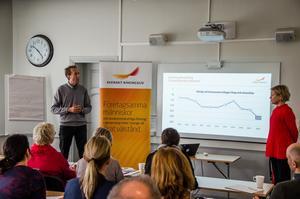 Fredrik Holmgren, näringslivschef på Örnsköldsviks kommun, såg möjliga förklaringar till fallet.