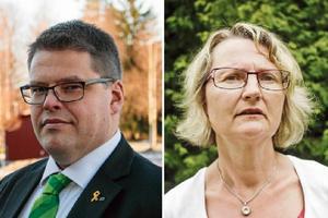 Salas kommunalråd Anders Wigelsbo (C) och hans kollega i Heby, Marie Wilén (C), har en del att göra för företagsklimatet.