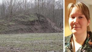 De giftiga metallerna har spridits med ytvatten från fastigheten i Hällabrottet. Det visar Kumla kommuns senaste prover från platsen enligt miljöchef Åsa Pettersson.