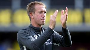 Graham Potter fick ta emot applåder efter sin första match som Premier League-tränare.