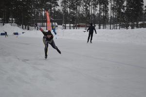 Den gångna helgen avgjordes ungdoms-SM i skridsko på Lugnet i Falun. Foto: Privat/Sven Olsson
