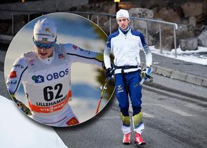 Filip Danielsson ersätter Marcus Hellner i Holmenkollens femmil. Arkivfoto: Rolf Zetterberg, Christine Olsson/TT