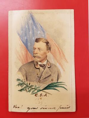 Carl Ludwig Lybecker. Foto från Norrtälje stadsarkiv.