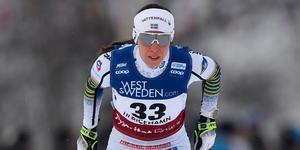 Charlotte Kalla slutade på plats 13 i Ulricehamn.