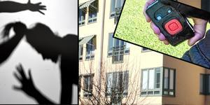 Personal på det kritiserade gruppboendet i Borlänge har bland annat fått hår avslitet. Nu bär de alltid med sig överfallslarm. (Bilderna är genrebilder och är inte från det aktuella boendet.)