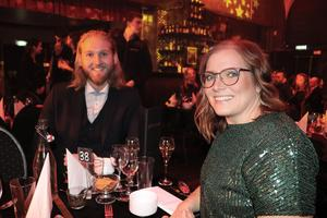 Christian Falevik och Sofie Näslund, Actic, trivdes.