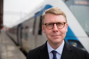 Kristoffer Tamsons (M) är trafikregionråd och ordförande för SL.