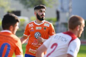 Hamode Hussein fick lira topp i Viktor Roos frånvaro.