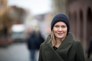 Lovisa Arvidsson, politisk redaktör på Länstidningen i Östersund. Socialdemokratiska ledarsidor.