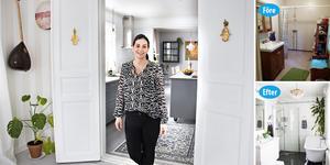 Ziba Stenbäck och hennes sambo Chorech Hovak har fullständigt förvandlat huset i Barrsätra sedan de köpte det – både invändigt och utvändigt.