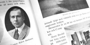 Kapten Björn Barkman ägde Körunda och stora områden i Ösmo.