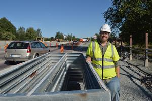 Några dagar in på nästa vecka (32) kommer trafiken att börja flyta bättre, spår Matti Siirtola på Trafikverket.