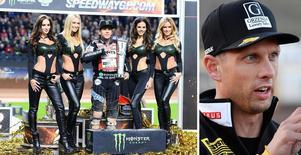 Speedwaystjärnan Andreas Jonsson (högra bilden) tackade nej till