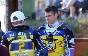 Kim Nilsson i samtal med Linus Sundström.