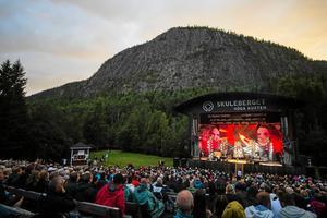 Jill Johnson på Skule Naturscen 12 augusti 2017. Bild: Adam Göransson