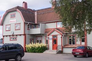 Järnvägsstationen i Sveg.