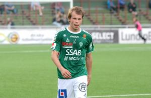 Alexander Zetterström är en spelare som Ola Lundin tror finns på allsvenska klubbars listor.