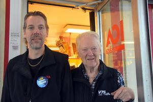 Patrik och Sven-Erik Högberg.