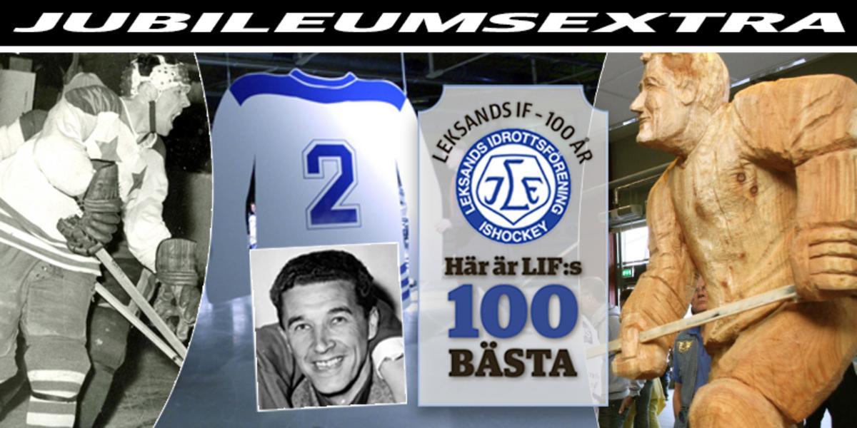 LIF:s 100 BÄSTA: Nummer 6 – storbacken som byggde klubben och blev staty: