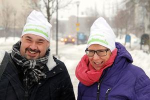 Christian Söderberg, näringslivschef, och Ewa Lindstrand (S), kommunstyrelsens ordförande i Timrå, har varit med på flera av de 100 företagsbesöken som gjorts under vintern och våren.