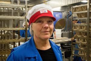 Maria Tillman, delägare i Tillmans chark.