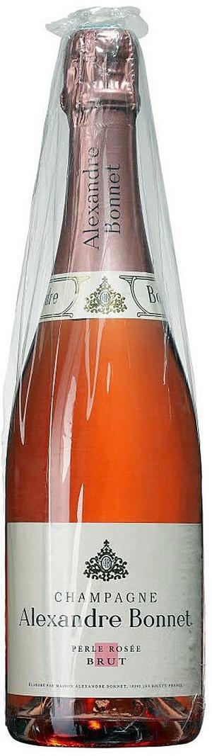 Alexandre Bonnet Perle Rosé Brut, Champagne.