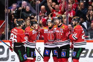 Det jublades mycket i Behrn arena. Bild: Johan Bernström/Bildbyrån