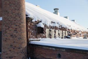 Renoveringen av det fallfärdiga gjuteriet är i en inledningsfas.