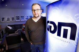 Tommy Gustafsson driver Sundsvalls största lokalt ägda IT-företag GDM.