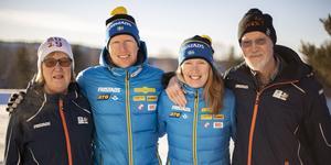 Familjen Nilsson är en skidskyttefamilj i kubik. Dessutom högst inblandad i årets VM i Östersund.