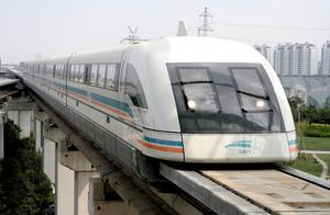 Maglev-tåg i Kina.