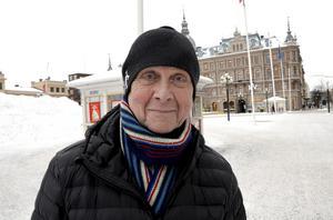 Karl Thörnblom, 71, pensionär, Sundsvall: