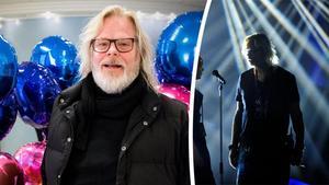 Henric von Zweigbergk, studioman, är som vanligt spindel i nätet på Melodifestivalen. Bild: Linn Grundberg