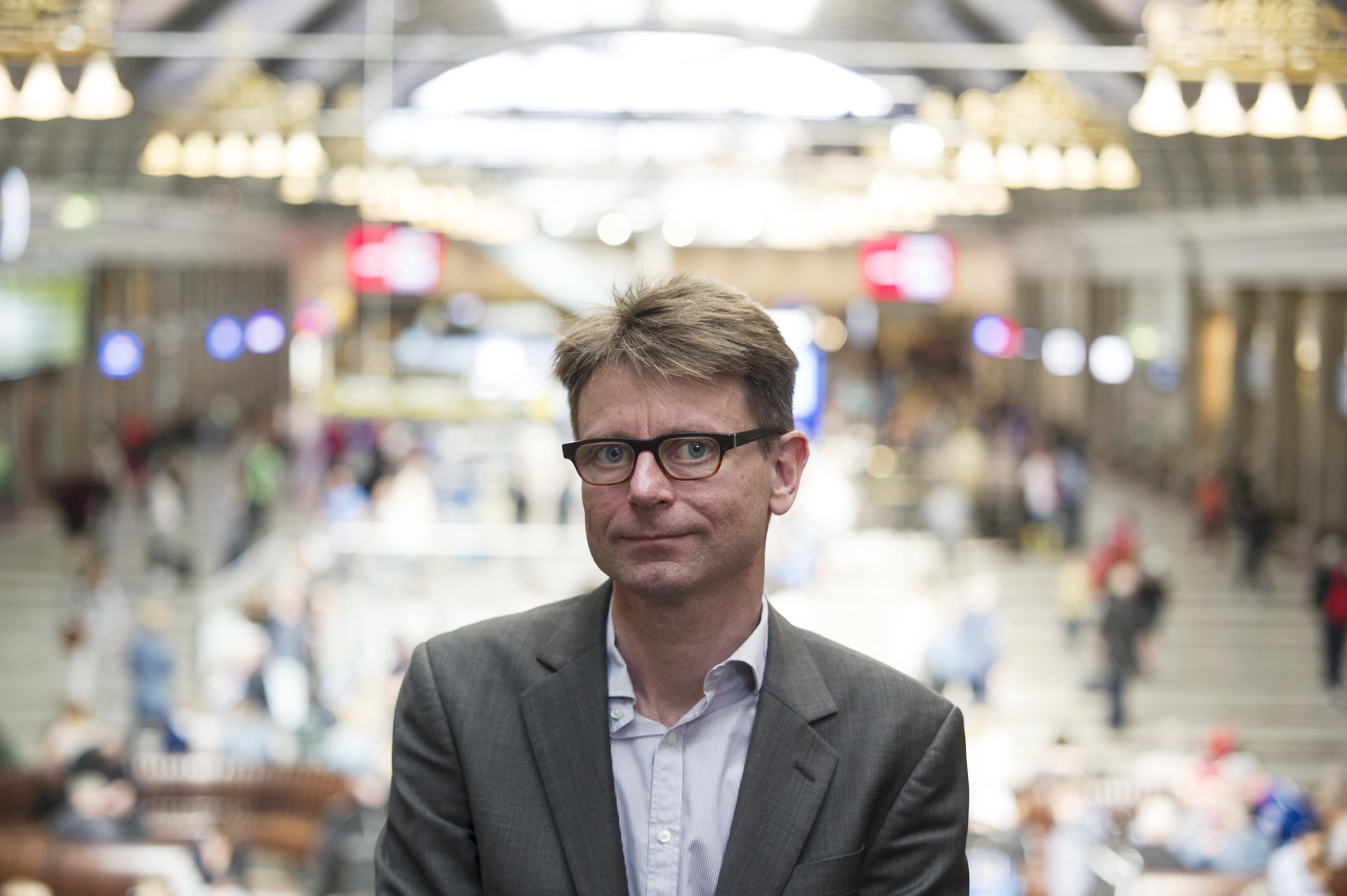 Peter Krameus hos SJ ser gärna en samarbetsmodell med Norrtåg som skulle öka möjligheterna att pendla med tåg i länet. Bild: Anna Alverhag