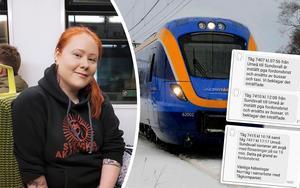 Stora problem i tågtrafiken ställer till det för de dagliga pendlarna på sträckan Örnsköldsvik till Umeå.