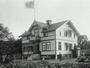 Villa Tidhem byggdes 1902. Foto: Privat