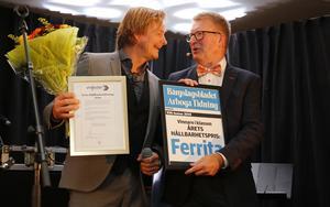 Årets hållbarhetspris. Micael Ljungström och Ferrita.
