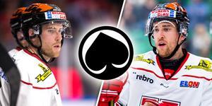 Tvillingarna  Tyler och Tyson Spink lämnar Örebro för finska ligan. Bild: Bildbyrån