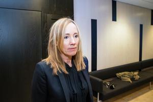 Åklagaren Anna Maria Larsson, förundersökningsledare och åklagare.