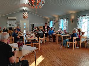 Björna socken Hembygdsförening hade årsmöte i slutet av juni. Foto: