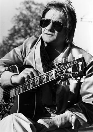 På turné. Gerhard Lundkvist spelade ofta i Västerås folkets park, här år 1982.