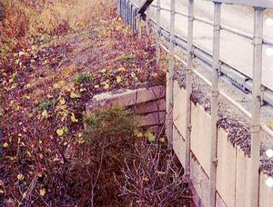 Redan 2010 noterade Trafikverket att betongen på bron över Bjurbäcken var i rörelse.