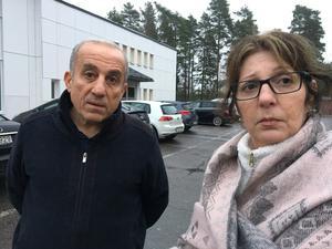 Sanharib Kourie och Nursen Besara.