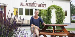 Päivi Lehtikangas har varit engagerad i allaktivitetshuset sedan det startade. Efter lördagens kalas kommer hon dock syssla med annat.