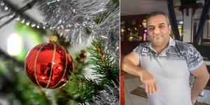 Röda Korset och Nynäshamns församling ordnar julfirande för ensamma äldre, i samarbete med Elias Katourgi på Bedaröbaren.