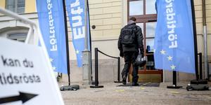 """""""Olof Palme sa redan på sin tid att EU är ett blått tjafs. Hur rätt hade han inte!"""" skriver Monica Mellberg, Falun. Foto:  Björn Larsson Rosvall/TT"""