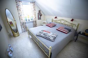 Sovrummet kommer få en sängstomme av en äkta jänkare så småningom.