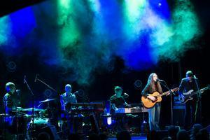 Melissa Horn spelade i Östersund under fredagskvällen .Foto: Jonas Herjeby.